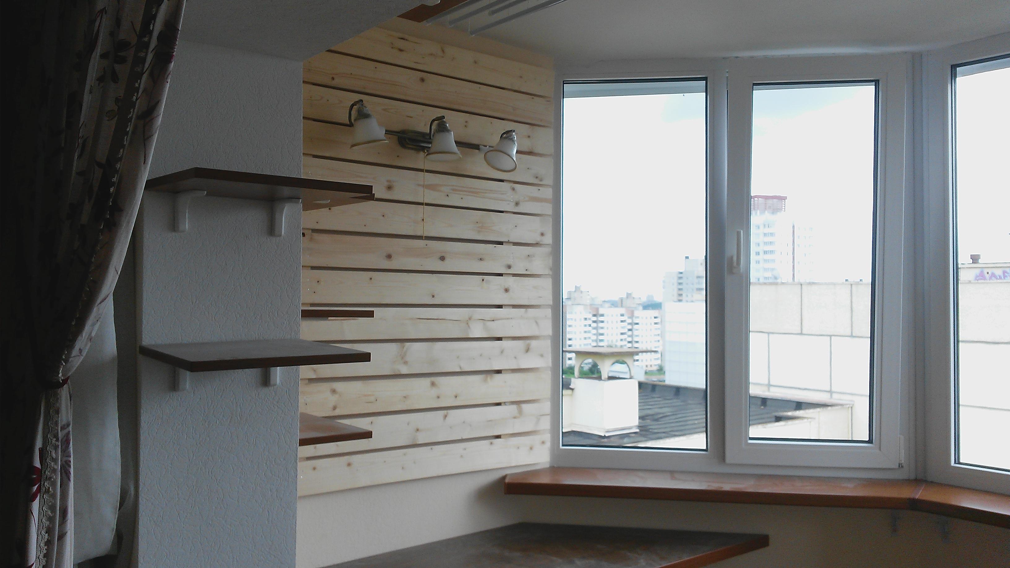 Объединение балкона, лоджии в минске, фото балконов.