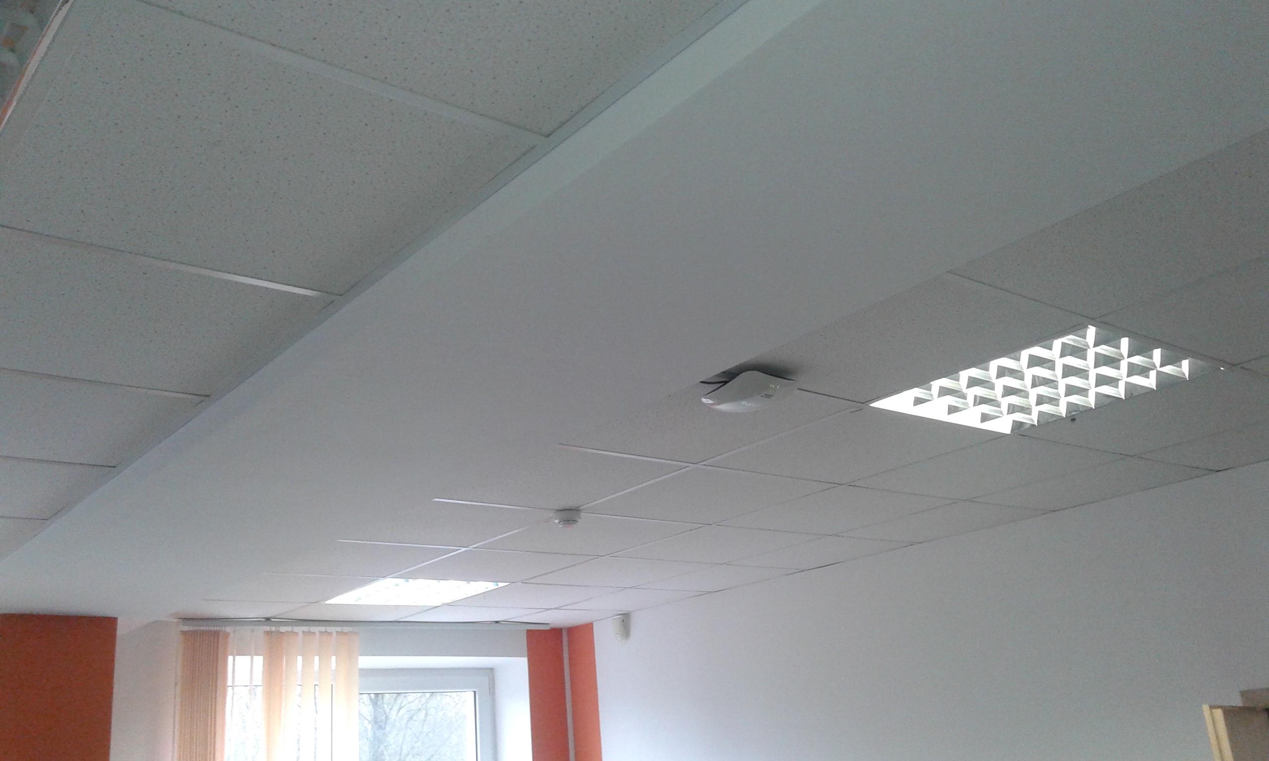 Как сделать потолок из армстронг фото